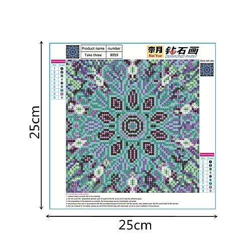 Jummoon Shop 5D Embroidery Paintings Rhinestone Pasted DIY Diamond Painting Cross Stitch