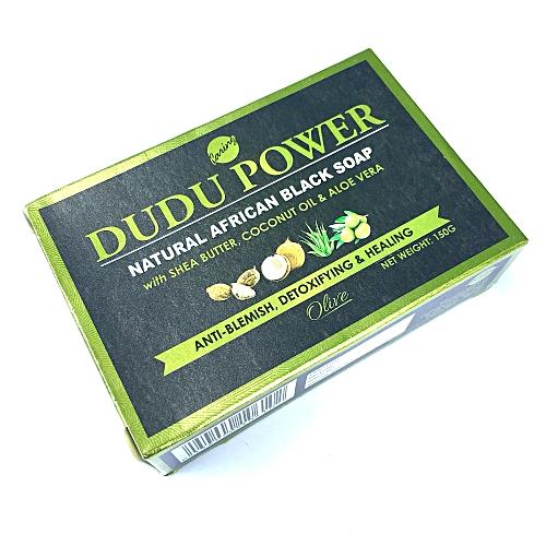 Dudu Power Black Soap - Olive 150G X 6