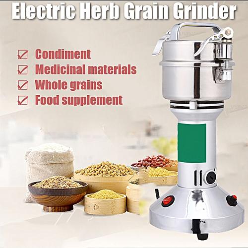 300g 220V 1400W Herb Grain Grinder Cereal Mill Flour Powder Machine