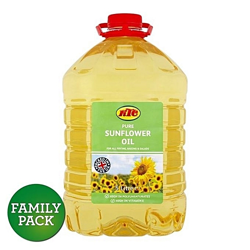 Pure Sunflower Oil 5litres