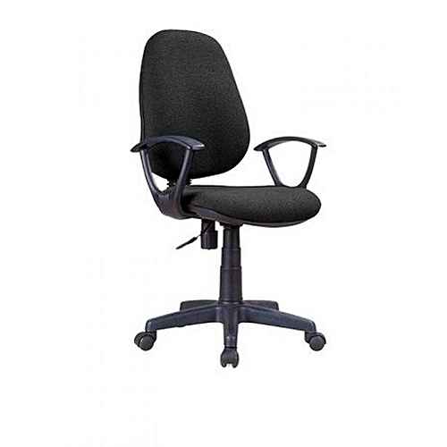 Best Quality Office Chair Swivel-Fabric Hb