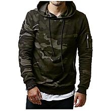 187f68c48f457f Fashion Winter Camouflage Hoodie Warm Hooded Sweat Coat Jacket Outwear  Hoodies Plus Size-green