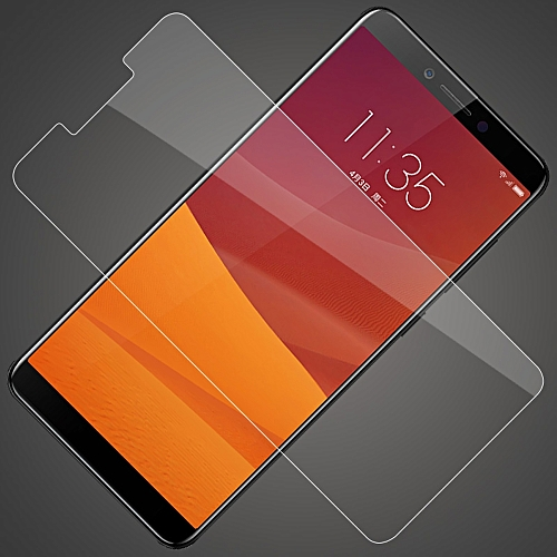 For Lenovo K5 Phone Protective Tempered Glass Screen Protector Film Anti-scratch Anti-dirt