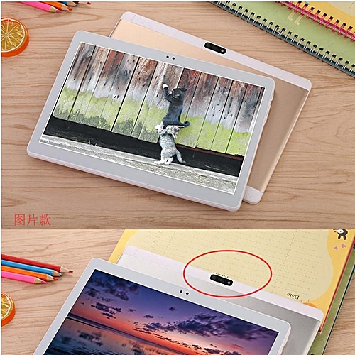 10.1'' Android 7.0 Tablet PC Octa 8 Core HD WIFI Bluetooth 2 SIM 4G