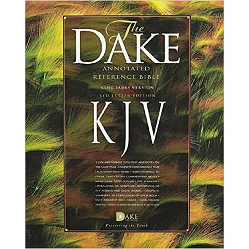 Dakes Annotated Reference Bible Open Download