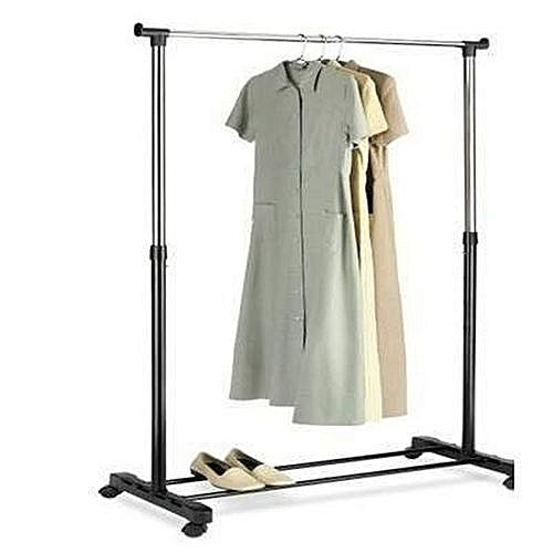 Clothes Hanger Single Pole