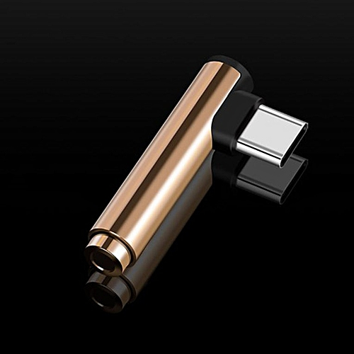 Mini Portable USB Type C To 3.5mm Earphone Adapter Audio Jack Type-C Converter