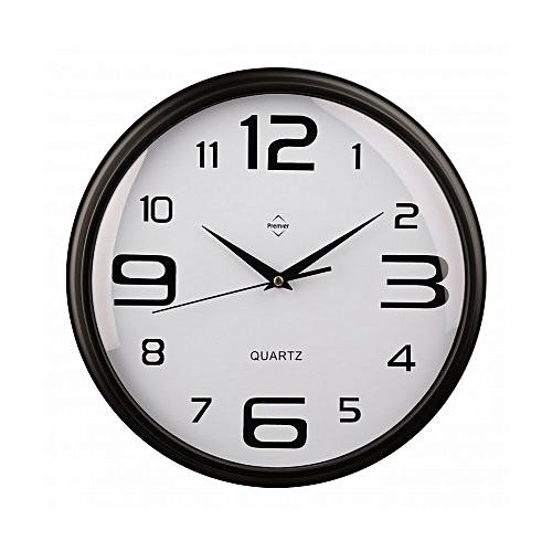 Wall Clock Plastic Frame