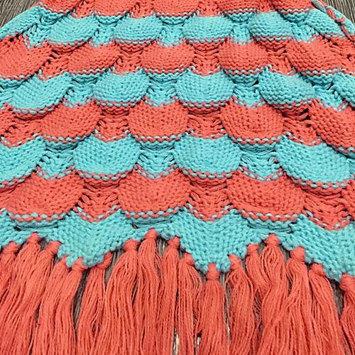Hiamok_Dtrestocy Knitted Mermaid Tail Blanket Handmade Crochet Adult Bed Wrap Sleeping Bag OR