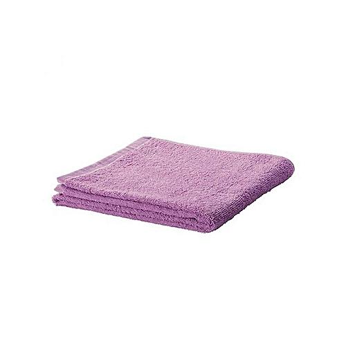100cm X 150cm Secret Rose Microfibre Bath Towels - Purple