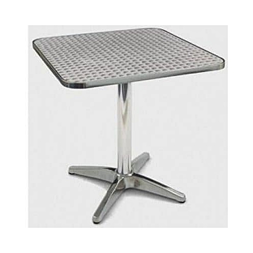 Aluminium Square Table - 600x600 Mm