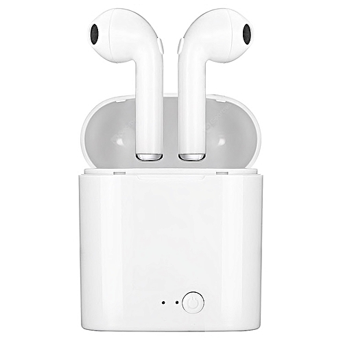 17s Wireless Bluetooth Stereo Earbuds For All Smartphones White