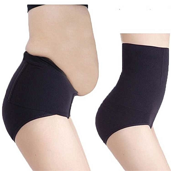 dc1eda73ec4 Seamless Women High Waist Slimming Tummy Belly Control Panties Postnatal Body  Shaper Corset Briefs Shapewear Girdle