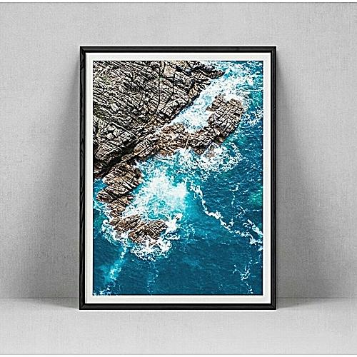 Wall Art Framed Anterior Ocean View.