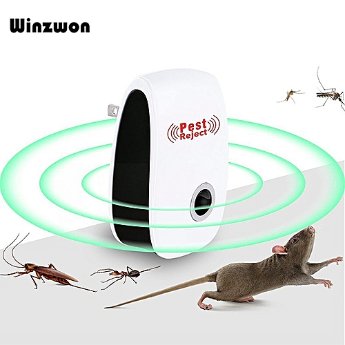 Ultrasonic Pest Repeller Electronic Insect Anti Mosquito Killer Pest Reject Mouse Rat Repellent Bug Zapper Pest Control For Home UDOKA