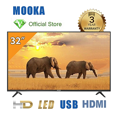 Haier Mooka 32-Inch LED HD TV LE32M6000 With A-Class Screen - Black