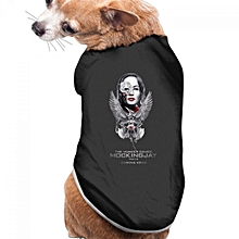 Used, Pet Supplies The Hunger Games Mockingjay Pet T-shirt Dogs T Shirts Black for sale  Nigeria