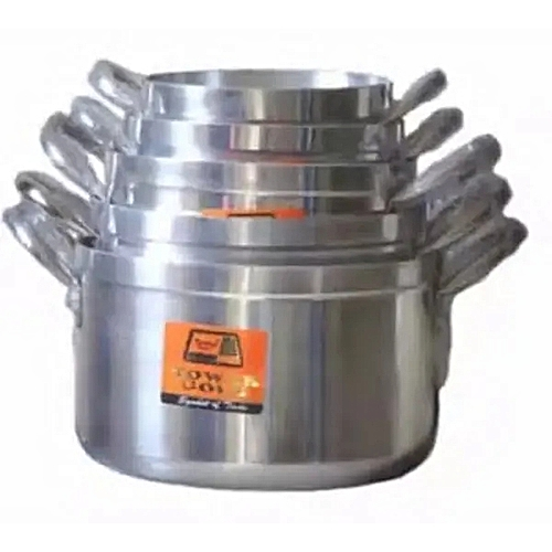 Tower Gold Set Of 5 Cooking Pots