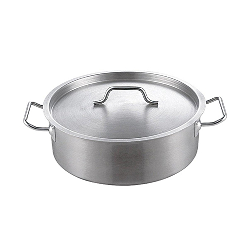 Stainless Steel Thick Hot Pot Induction Compatible Home Kitchen Cookware# 32cm