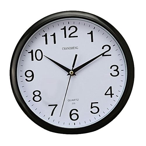 Best Large Vintage Round Modern Home Bedroom Retro Time Kitchen Wall Clock Quartz SLS