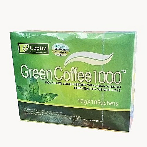 Leptin Green Coffee 1000 For Weight Loss