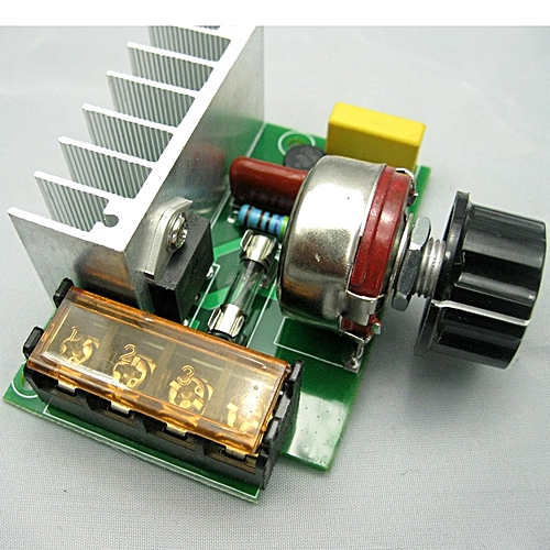4000W High Power Silicon Control Voltage Regulator Aiming Adjust Speed Thermoregulation