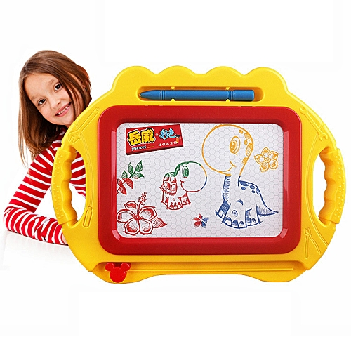 Educational Kids Doodle Toy Erasable Magnetic Drawing Board + Pen Gift New