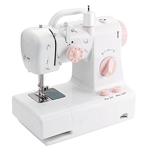 FHSM-318 Mini Sewing Machine Automatic Winding Built-in Light Mending Machine Household Tools Sewing Suppliers Accessories
