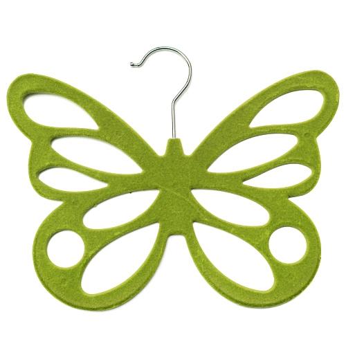 Butterfly Scarf Shawl Hanger Necktie Belt Closet Storage Holder Hook Organizer Green