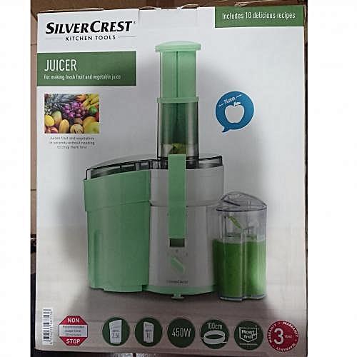 Fruit And Vegetable Juicer - Light Green
