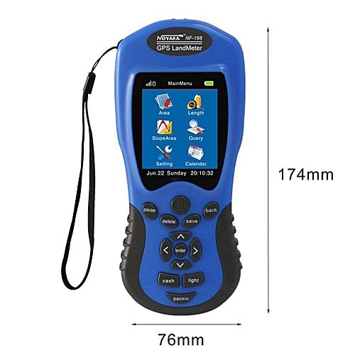 OR NF-198 GPS Land Meter LCD Display Measuring Value Figure Farm Measurement-blue
