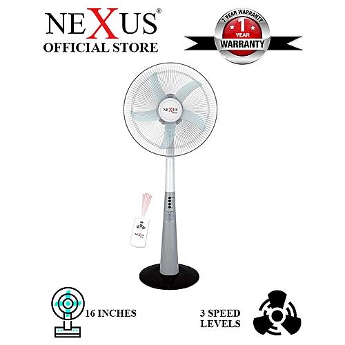 """16"""" Rechargeable Fan (NX-RF4520R)"""
