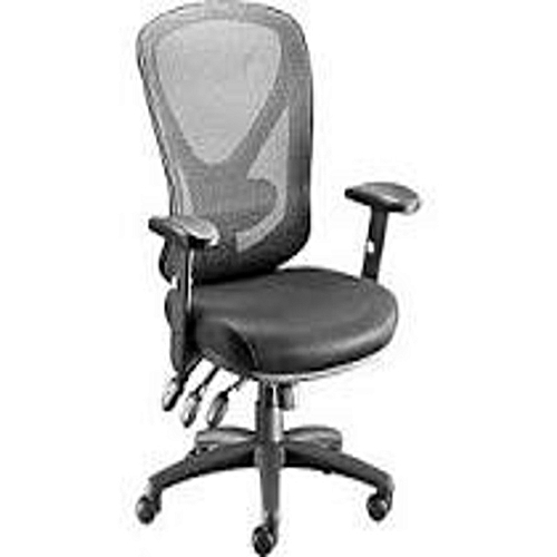 Executive Mesh Back Seat - Black