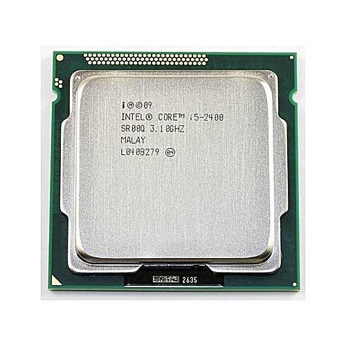 Intel I5 2400 Processor Quad-Core 3.1GHz LGA 1155 TDP:95W 6MB Cache I5-2400 Desktop CPU