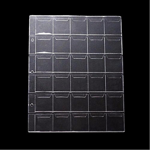 Universal Coin-page Booklet Coin Collection Volumes Banknotes Coins Universal Binder Album Inside Pages (coin Binder / 30 Frames) Can Be Mounted 5 Yuan Face Value Of The Coin 33mm Diameter Inside