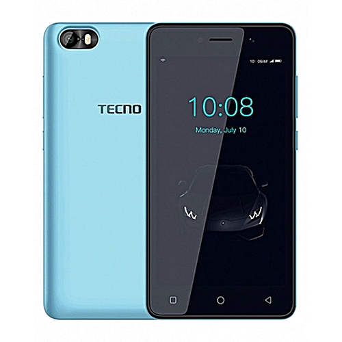 F1 5-Inch (1GB, 8GB ROM) Android 8 Oreo (Go Edition), 5MP + 2MP Dual SIM 3G Smartphone - Ice Blue