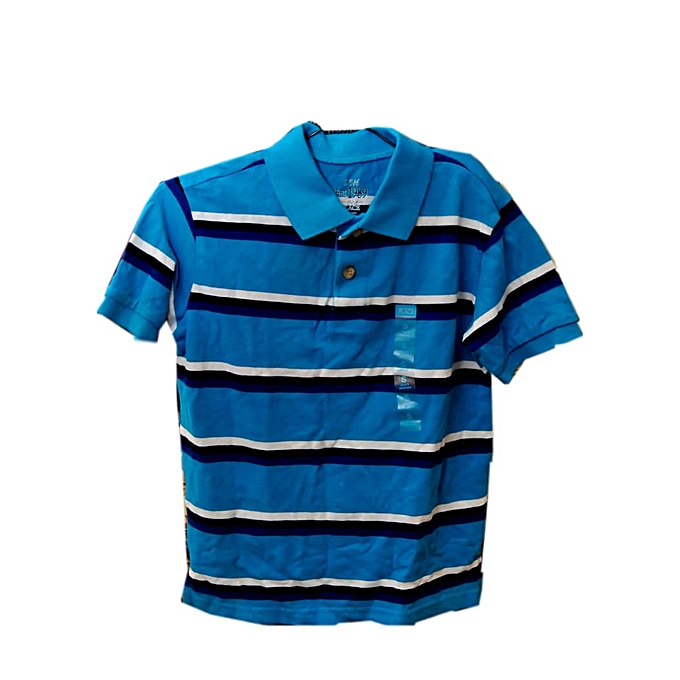 81afeec8eb The Children's Place Toddler Boys Short Sleeve Striped Polo-Paste ...