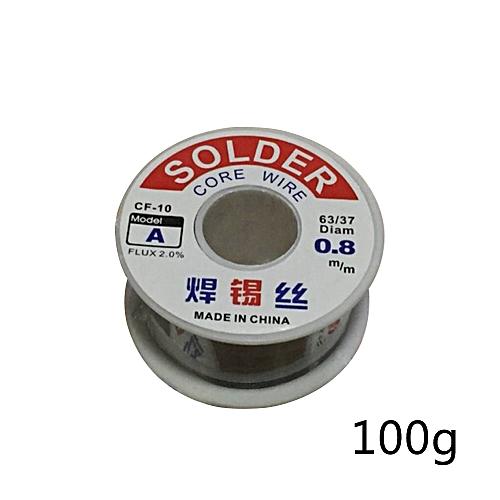 0.8mm 63/37 Tin Lead Melt Rosin Soldering Solder Core Welding Iron Reel Flux