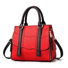 Fashion Statement Leather Handbag - Red 888d0f13be62