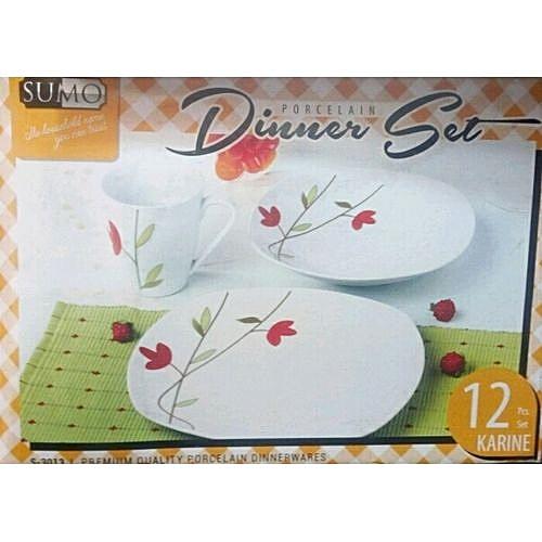 12pcs Dinner Set Plate