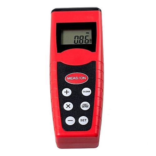 Generic ta-cp3000 Electric Infrared Laser Ultrasonic Distance Range Meter Rangefinders*Red Black