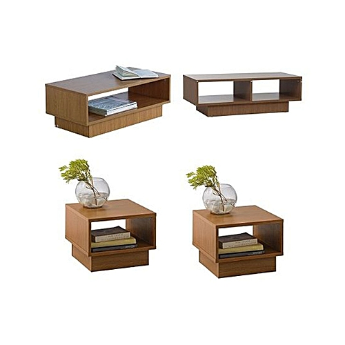 Nicole Living Room Set - Brown (Delivery Within Lagos Only)