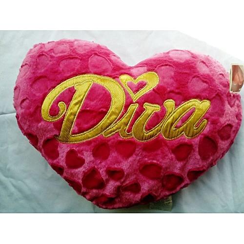 PINK Diva Throw Pillow