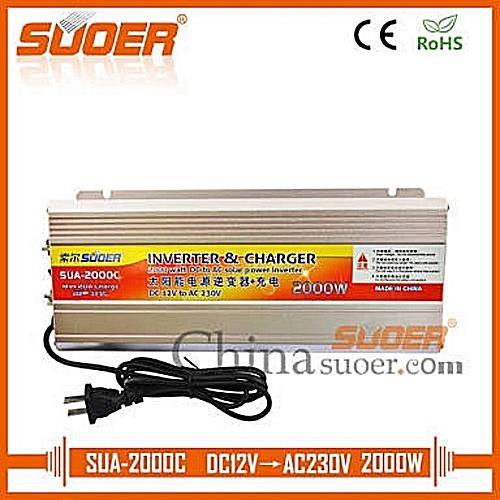12v 2000w Power Inverter With Inbuilt 20A Battery Charger