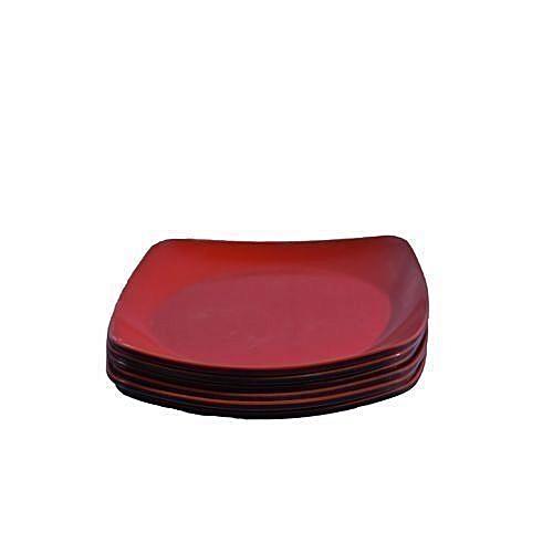 Unbreakable Ceramic Plate 6pcs