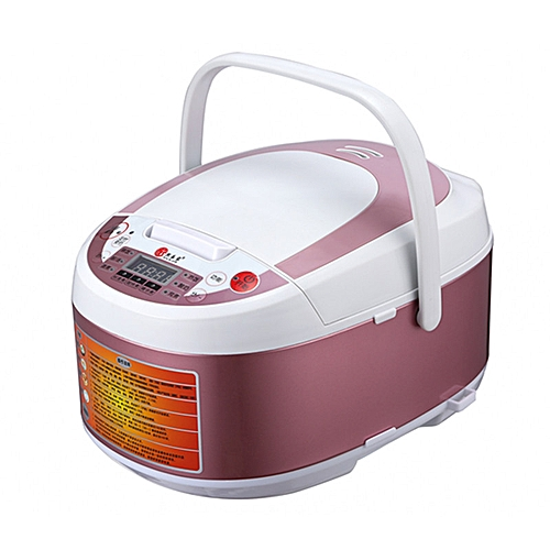 Xi Lejia Smart Rice Cooker 3L Home Reservation Honeycomb Liner Mini Rice Cooker Small - 3L Pink