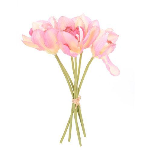 Nigeria buy generic 6pcs simulation cymbidium faberi flower generic 6pcs simulation cymbidium faberi flower bouquet artificial flowers decorative flowers silk flowers decoration craft wedding mightylinksfo