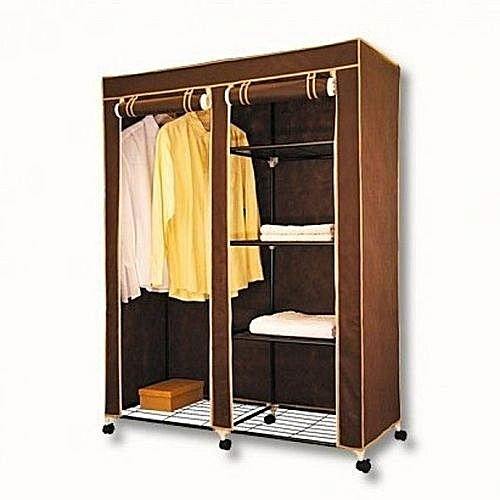 Mobile Wardrobe Closet With Wheels