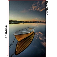 4b1c1f8b9033 Sea Boat Modern Art Painting Canvas Print Picture Home Wall Decoration No  Frame
