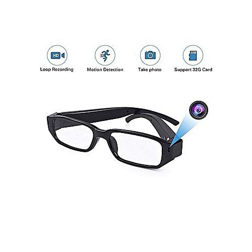 SpyEye Glasses;Camera;Memory Card Slot + Cloth